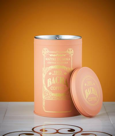 Majorelle Coffee Canister in Pink