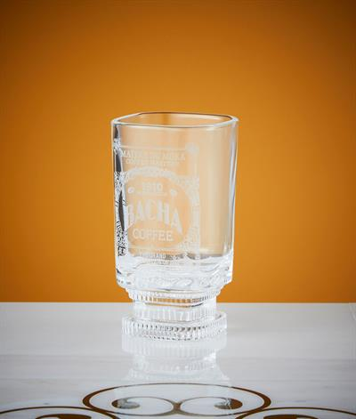 Bacha Iced Coffee Glass in Clear