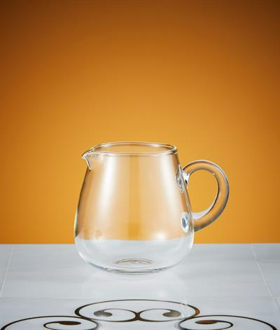 Glacier Glass Milk Jug